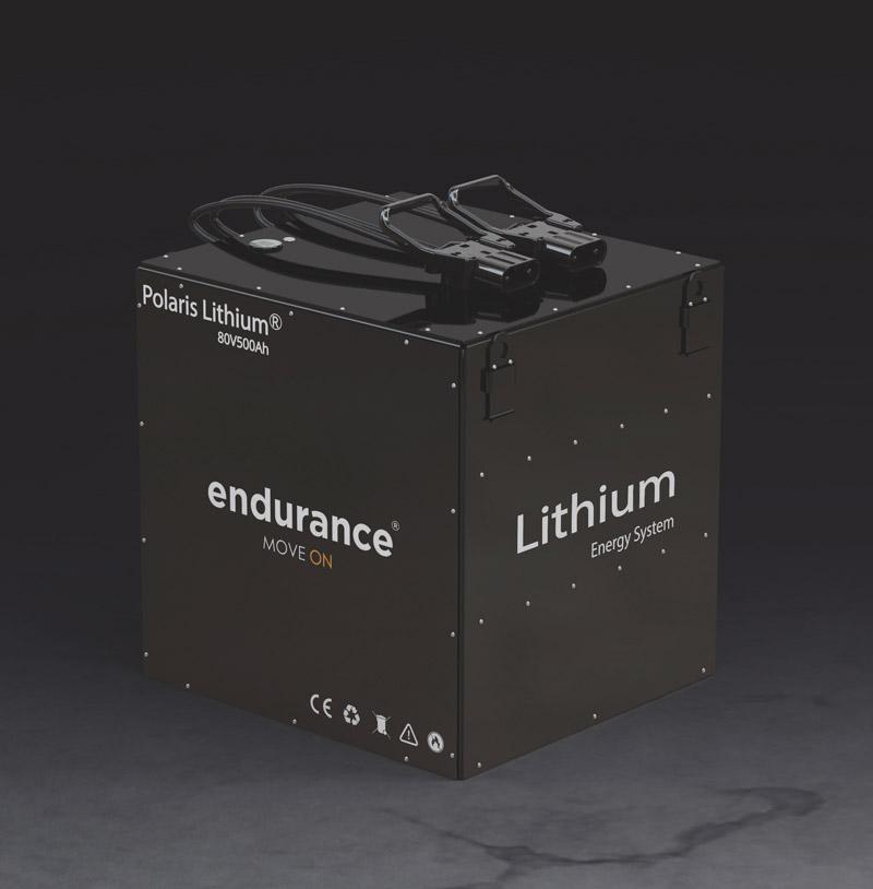 batería de ION LITIO Endurance