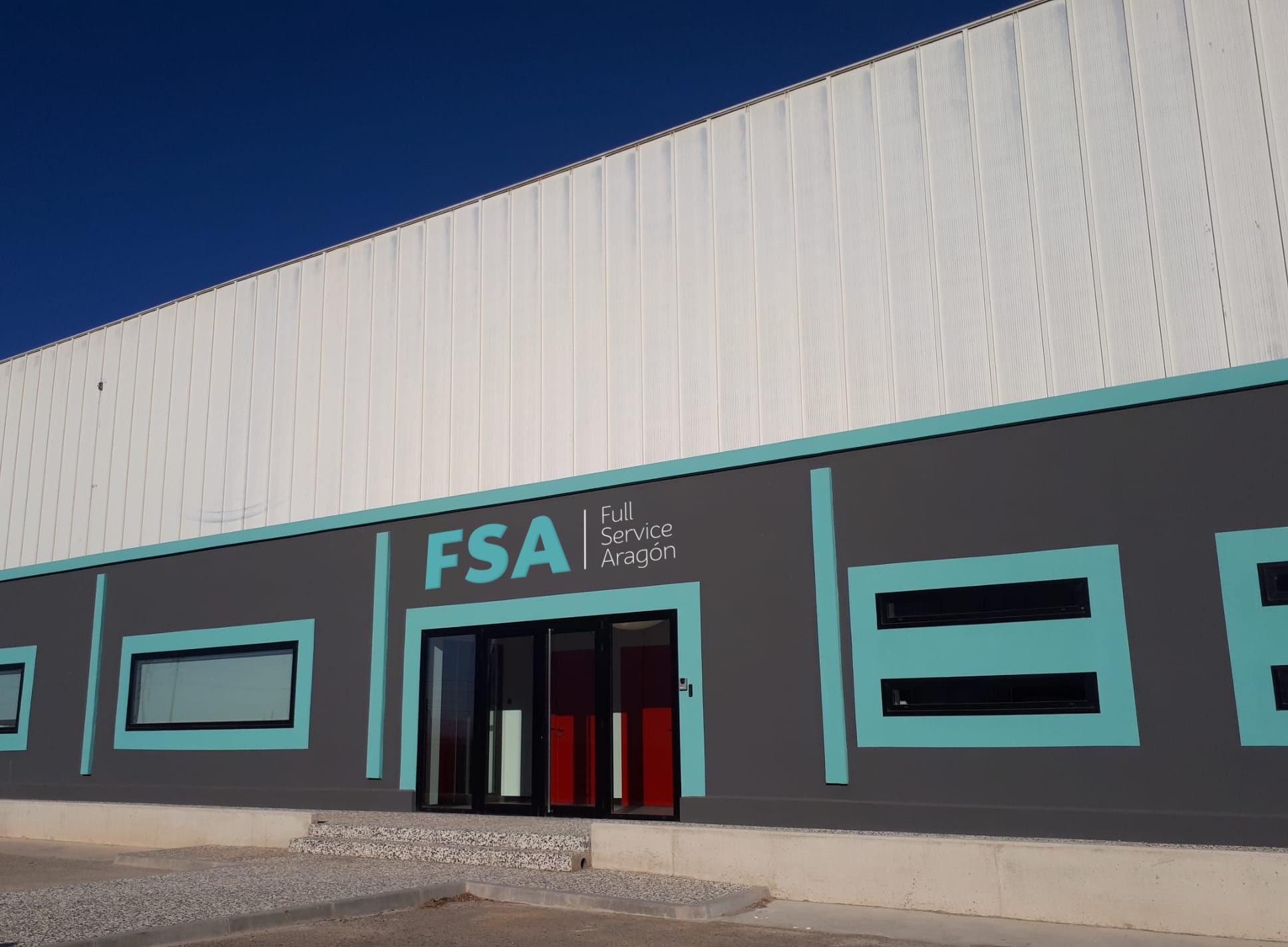 Full Service Aragón en sus nuevas instalaciones del Polígono Malplica