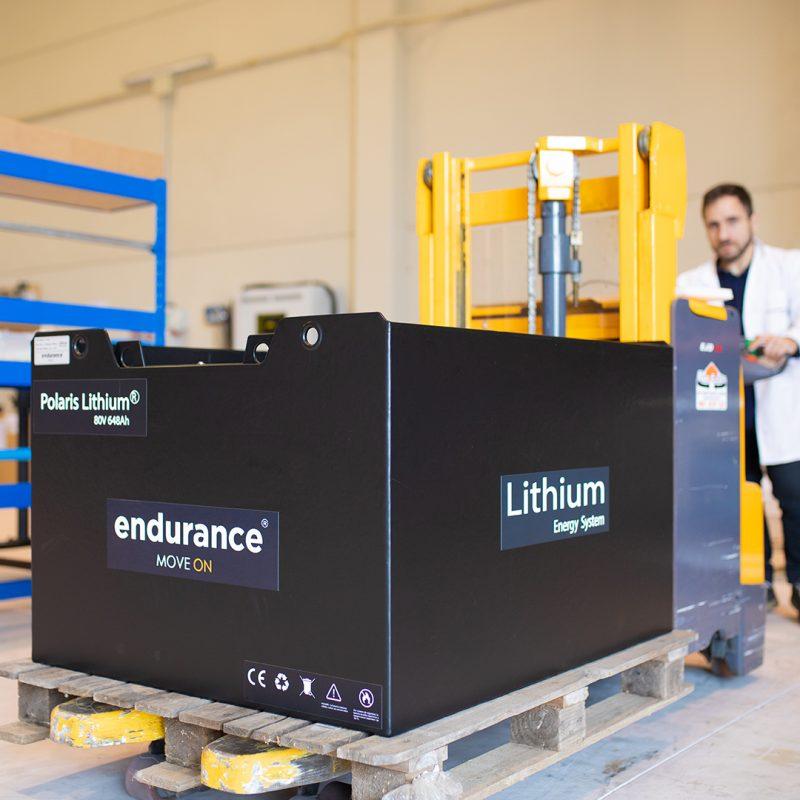 Batería Ion Litio Endurance